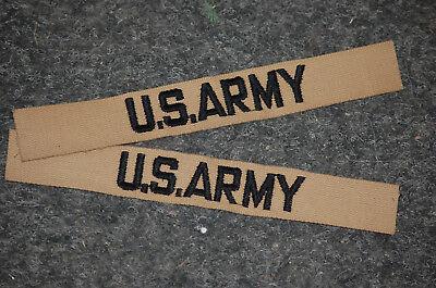 US Army Aufnäher Patch Konvolut 2 Stck Desert