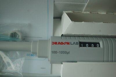 121c Autoclavable Digital Micro Pipette Single Channel Adjustable 100-1000 Ul