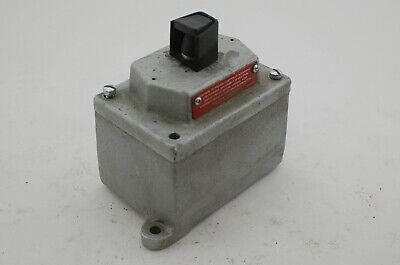 Crouse Hinds Eds 2192 Industrial Control Switch