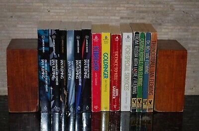 14 Volumes of James Bond by Ian Fleming and John Gardner