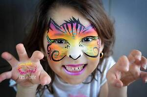 Face Painter Melbourne - Creative, Fun, Professional Ascot Vale Moonee Valley Preview