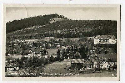 AK Mittel Schreiberhau Handwerker Erholungsheim Rsgb gel nach Berlin Pankow 1930