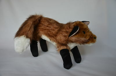 Fox Squeaky and Fury Play Toy - Dogs/Puppy/Cat/Kitten/Ferret/Weasel/Gift