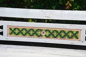 2 Decorated Balinese Garden Bench Seats $750.00 EACH Yallingup Busselton Area Preview