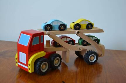 Wooden Car Carrier Truck Strathpine Pine Rivers Area Preview