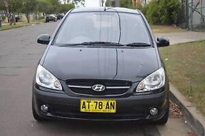 2007 Hyundai Getz 5 DOOR H/back MANUAL,AIR,STEER,REGO,SUB WOOFER Pendle Hill Parramatta Area Preview