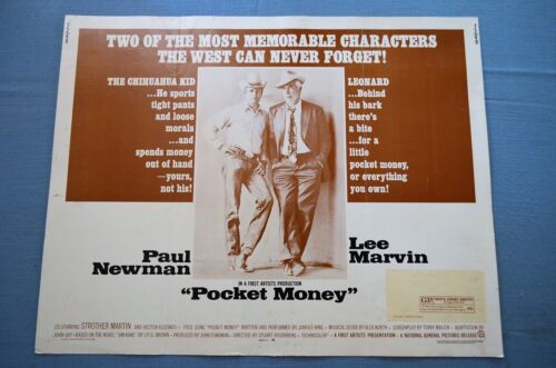 "Vintage Movie Poster, ""Pocket Money"" (1972)"