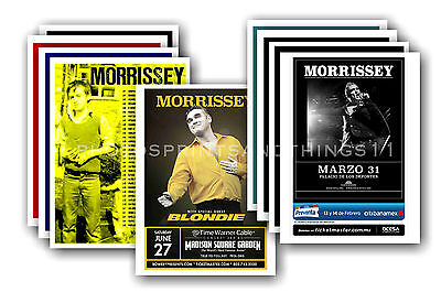 MORRISSEY  - 10 promotional posters  collectable postcard set # 1