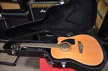 Ibanez PF17ECE Cedar Top Acoustic in Hard Case West Ryde Ryde Area Preview