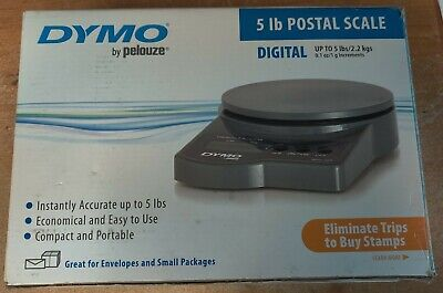 Dymo By Pelouze - All-purpose Digital Electronic Postal Scale 5lb Capacity