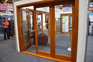 SOLID CEDAR 3 PANEL BIFOLD DOOR 2410 x 2100H, NEW IN FRAME Capital Hill South Canberra Preview