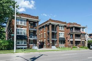 Stunning 2 bedroom apartment with balcony views of Gage Park