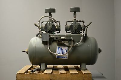 Ohio Medical Air Compressor Wtwin Gast Air Compressors 32 Gal With Air Dryer