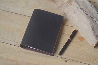 Leather A6 Binder Folio Cover Notepadhandmade 6 Rings A6 Planner Folder Case