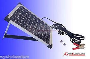 10W 12V SOLAR PANEL & REGULATOR *BOSCH GERMAN CELLS* BATTERY CHARGER  WATT 20 40