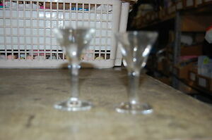 lot de 2 verre a liqueur ancien de bistrot occasion ebay. Black Bedroom Furniture Sets. Home Design Ideas