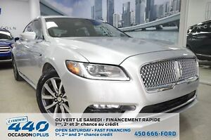 2017 Lincoln Continental |RESERVE 2.7L AWD, CUIR