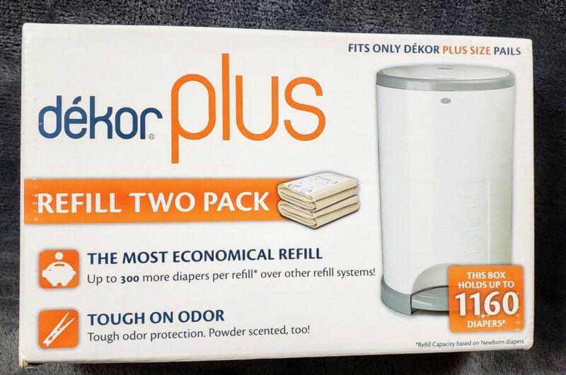 Dekor Plus Diaper Pail Refills Most Economical Refill System Plus Size Pails