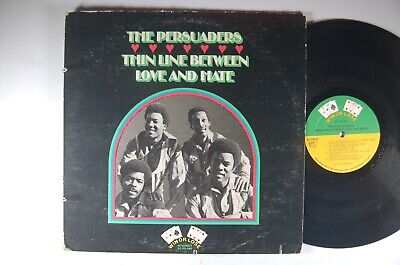PERSUADERS Thin Line Between Love and Hate SOUL LP Win or Lose