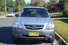2003 Mazda Tribute LUXURY 4X4 AUTO,AIR,STEER,SUNROOF,LEATHER SEAT Mays Hill Parramatta Area Preview