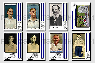 TOTTENHAM -  CIGARETTE CARD HISTORY 1900-1939 - Collectable postcard set # 1