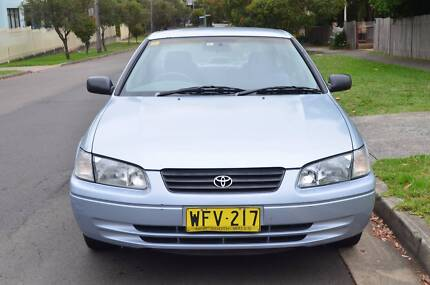 1999 Toyota Camry 4CYL,AUTO,AIR,STEER, REGO,BOOKS CHEAP