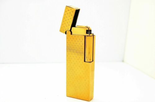 VINTAGE DUNHILL GOLD IN COLOR ROLLAGAS LIGHTER - MADE IN JAPAN