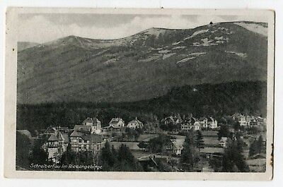 AK Schreiberhau im Riesengebirge gelaufen nach Tschechien CSR 1947