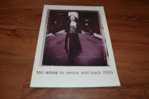 Tori Amos Tour Book Program To Venus and Back 1999 5 1/2 Weeks Tour