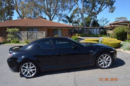 Brillinat Black 2008 Mazda RX-8 Coupe Hope Valley Tea Tree Gully Area Preview