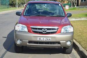 2003 Mazda Tribute  4X4 AUTO,AIR,STEER,SUNROOF,LONG REGO CHEAP Mays Hill Parramatta Area Preview