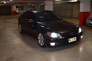 2004 Lexus IS200 sport Sedan Homebush Strathfield Area Preview