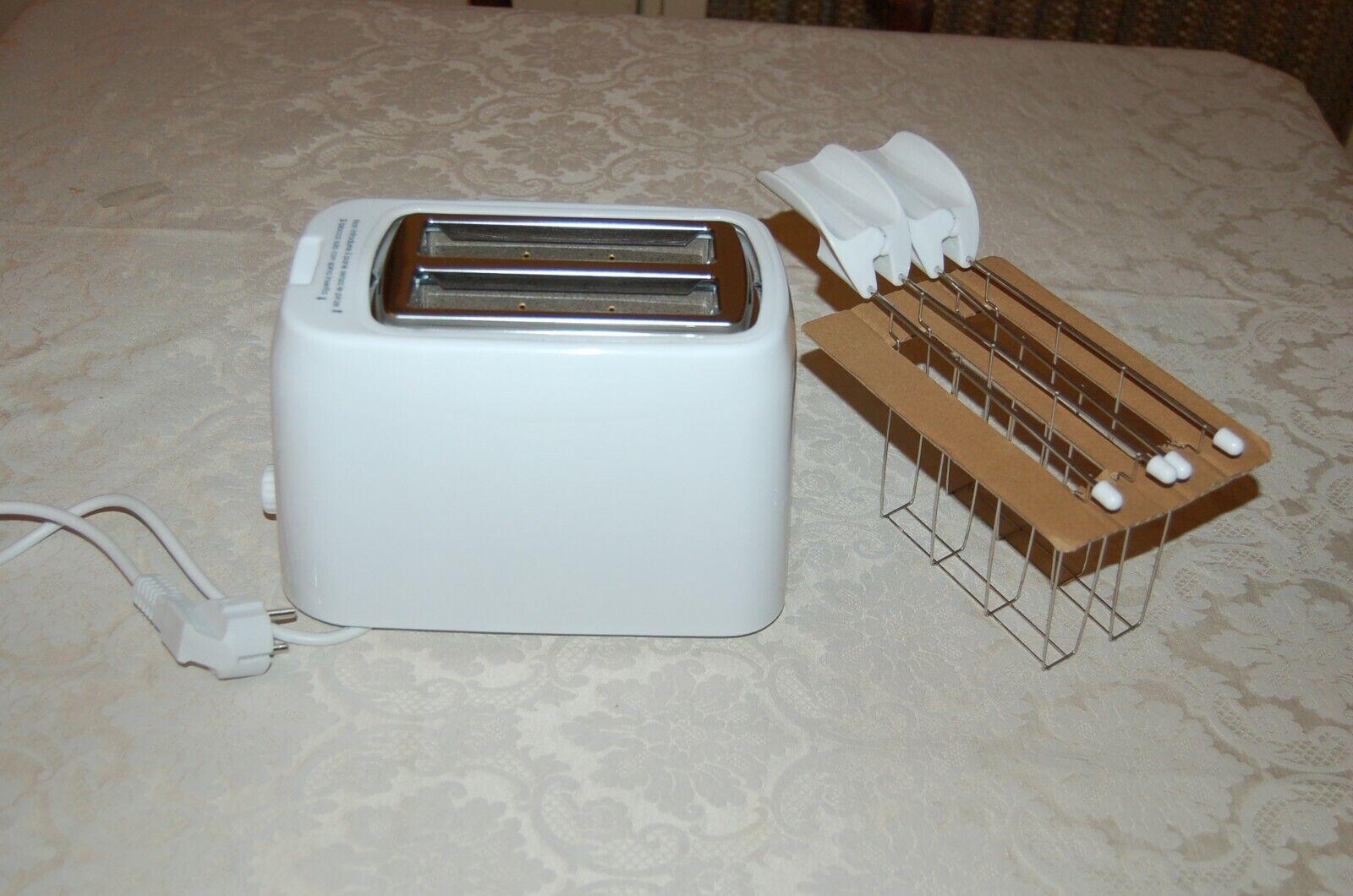 Tostapane, Bianco, Due Pinze, Mai usato