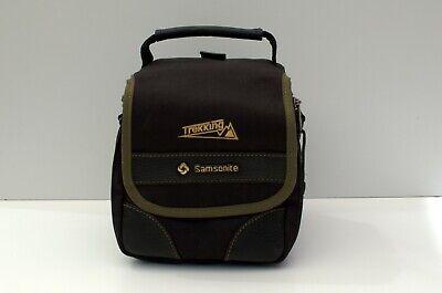Samsonite Trekking camera bag - black with olive trim