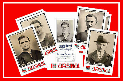 ARSENAL - RETRO 1920's STYLE - NEW COLLECTORS POSTCARD SET