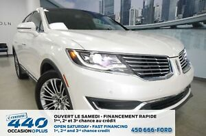 2016 Lincoln MKX | 3.7L AWD, CUIR, TOIT PANO, NAVIGATION