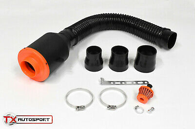 Universal Cold Air Induction Intake Kit System Flexible Pipe Hose Performance