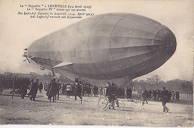 AK- Das Luftschiff Zeppelin in Luneville 3.4-April 1913-