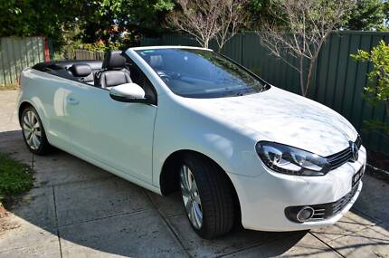 2011 Volkswagen Golf Cabriolet - premium features and low kms