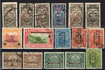ECUADOR Scott 259//339 Used (1 MH) ## 1 cent start ##