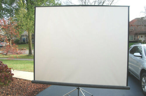 Da-Lite 69905 Carpeted Picture King Projection Screen w Keystone 8 x 8 - 96 x 96