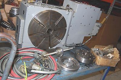 12.6 Tsudakoma Rncm-301r Cnc 4th-axis Rotary Table Cables Extras