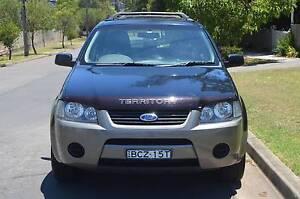 2007 Ford Territory SR 4X4 AUTO,LONG REGO LOG BOOKS,CHEAP CHEAP Pendle Hill Parramatta Area Preview