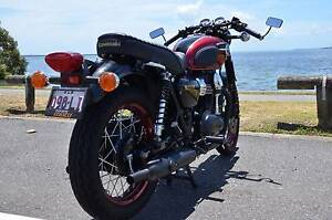 Kawasaki W800 SE - Modern classic look - low kms Wynnum Brisbane South East Preview