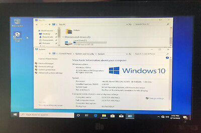 19 Inch Elo Esy19c2 Pos All In One Touch Screen Computer Windows 10 Pro