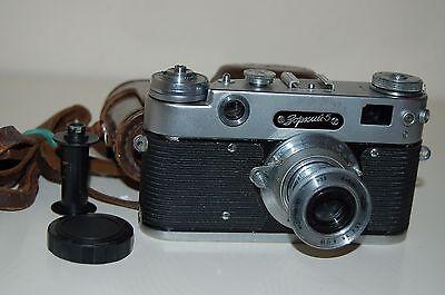 Zorki-5 Vintage 1959 Soviet Rangefinder Camera and Case. 5908771. UK Sale.