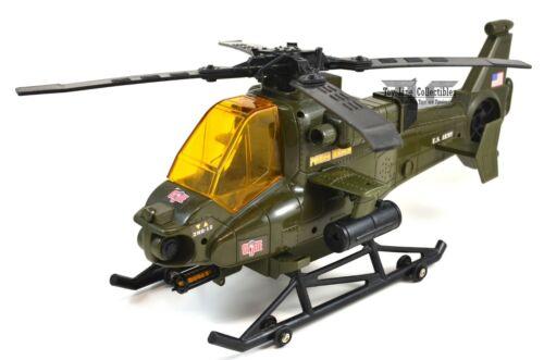 GI Joe Motorized Power Army Helicopter Funrise 2001 *Works*