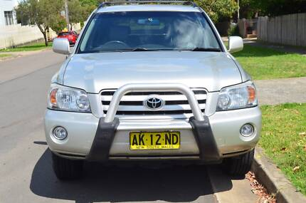2004 Toyota Kluger CVX,LUXURY,7SEATS,FULL BOOKS,AUTO,REGO CHEAP