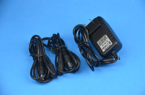 5V AC Power Adapter + 2x 4' extension cord for Foscam F18910W FI8910W IP CAMERA