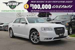 2017 Chrysler 300 C - AWD, Sunroof, Bluetooth, Leather, Pwr Seat